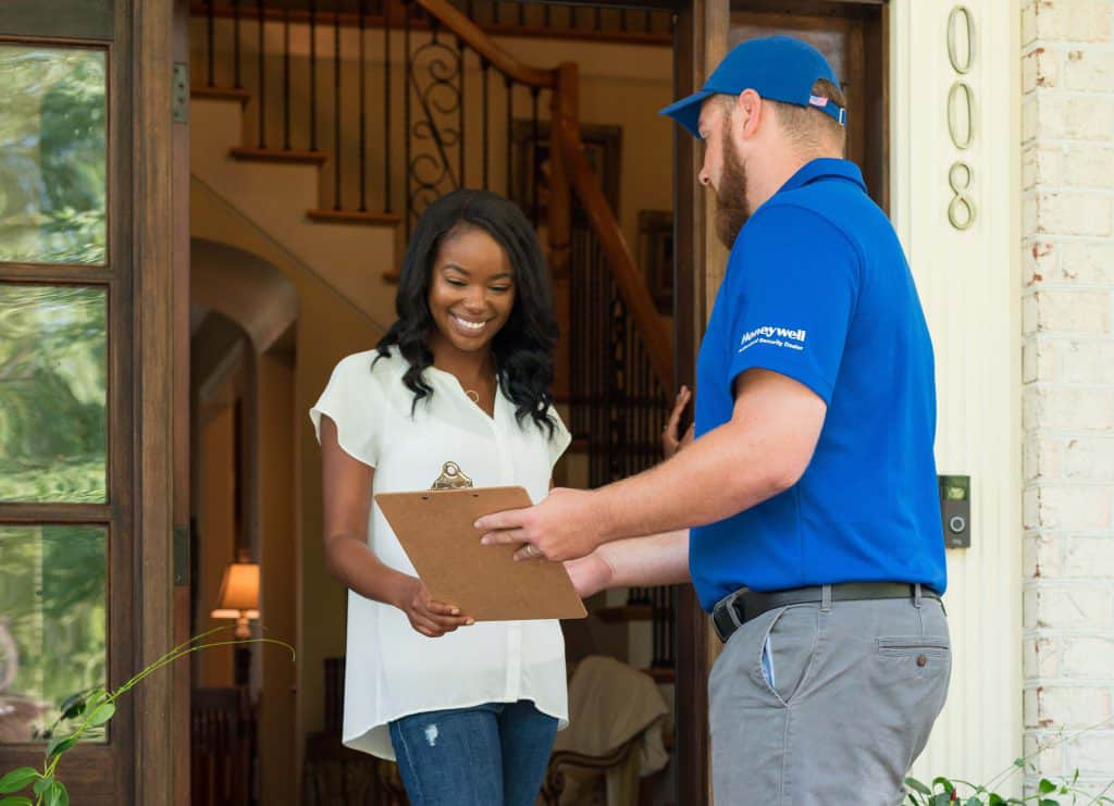 home automation security company